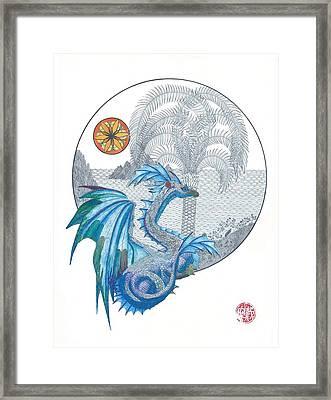 Cymru Framed Print by Dianne Levy