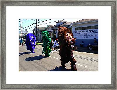 D And H Drug Store Framed Print by David Fields