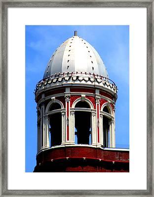 D C Dome Framed Print
