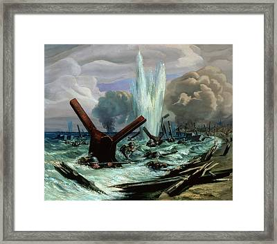 D Day Framed Print by Orville Norman Fisher