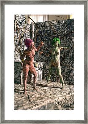 D Energy E Framed Print by Leigh Odom