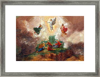 D. Nollet The Transfiguration Framed Print by Munir Alawi