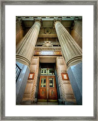 Federal Bar Framed Print