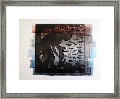 D U Rounds Project, Print 4 Framed Print