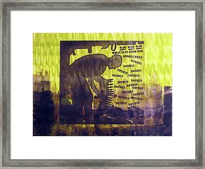 D U Rounds Project, Print 12 Framed Print