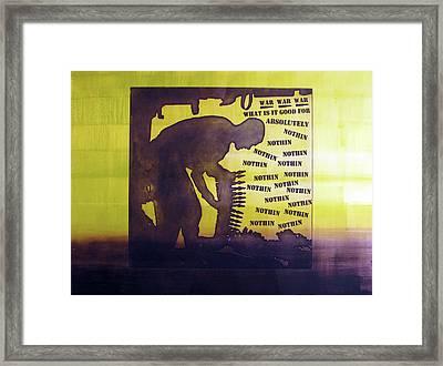 D U Rounds Project, Print 15 Framed Print