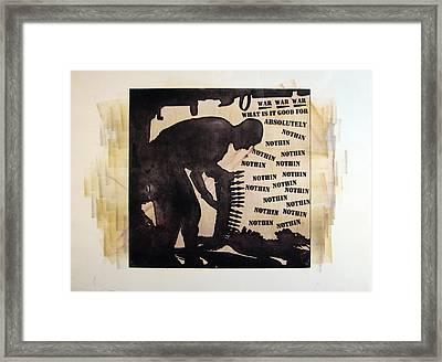 D U Rounds Project, Print 17 Framed Print