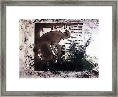 D U Rounds Project, Print 50 Framed Print