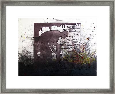 D U Rounds Project, Print 51 Framed Print