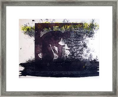 D U Rounds Project, Print 6 Framed Print