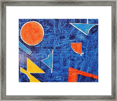 Framed Print featuring the painting Factory Oil Oil On Board 16x20 by Radoslaw Zipper