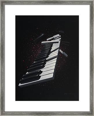 Da Capo  Framed Print by Jon Carroll Otterson