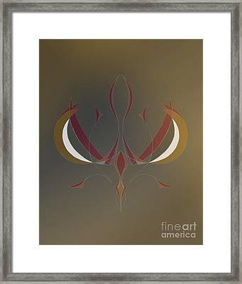 Da Vinci Spider Framed Print