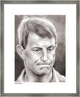 Dabo Swinney Framed Print by Greg Joens