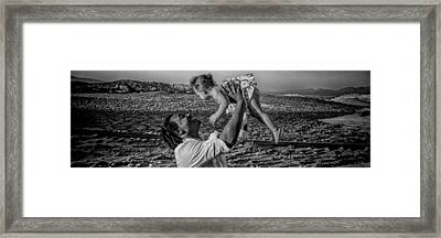 Framed Print featuring the photograph Daddy's Girl by Ryan Smith