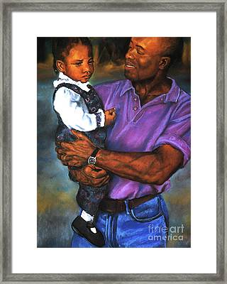 Daddy's Little Girl Framed Print by Curtis James