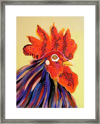 Framed Print featuring the painting Dadoodle by Bob Coonts