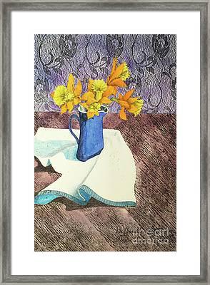 Daffodilly Afternoon Framed Print