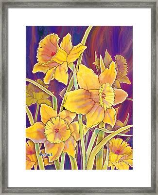 Daffodils Framed Print by Teresa Ascone
