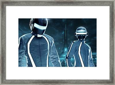 Daft Punk - 1026 Framed Print by Jovemini ART