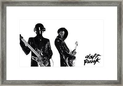 Daft Punk - 400 Framed Print by Jovemini ART