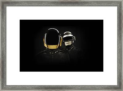 Daft Punk - 694 Framed Print by Jovemini ART