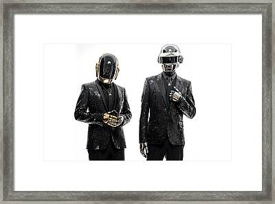 Daft Punk - 955 Framed Print by Jovemini ART