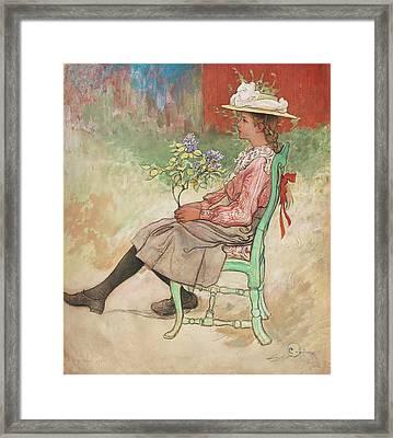 Dagmar Framed Print