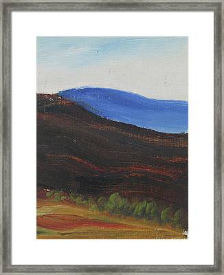 Dagrar Over Salenfjallen- Shifting Daylight Over Distant Horizon 2 Of 10_0035 50x40 Cm Framed Print
