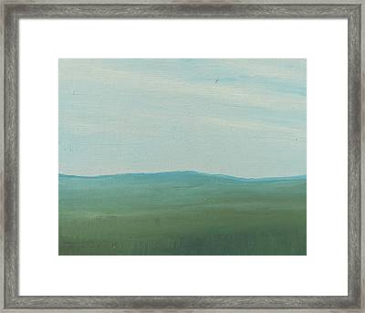 Dagrar Over Salenfjallen- Shifting Daylight Over Distant Horizon 4 Of 10_0029 51x40 Cm Framed Print