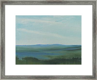 Dagrar Over Salenfjallen- Shifting Daylight Over Distant Horizon 6a Of 10_0027 50x40 Cm Framed Print