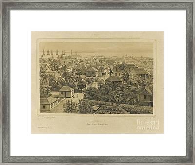 Daguerian Excursions In Jamaica Framed Print