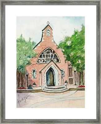 Dahlgren Chapel Framed Print by Mary DuCharme