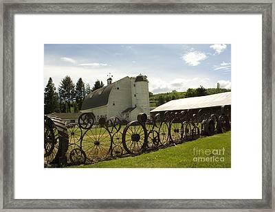 Dahmen Barn Framed Print by Louise Magno