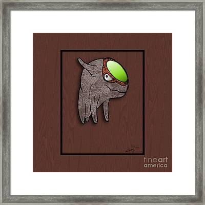 Daiki The Great Radiance Framed Print