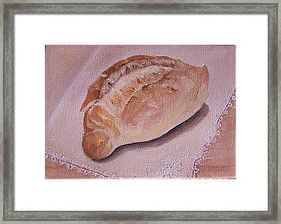 Daily Bread Framed Print by Irene Corey