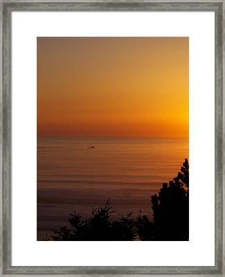 Framed Print featuring the photograph Daily Commute by Angi Parks