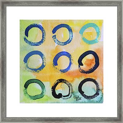 Daily Enso - The Nine Framed Print
