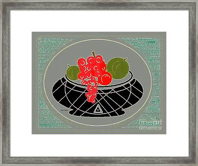 Daily Fruit 4 Framed Print