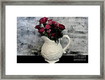 Framed Print featuring the photograph Dainty Flowers by Marsha Heiken