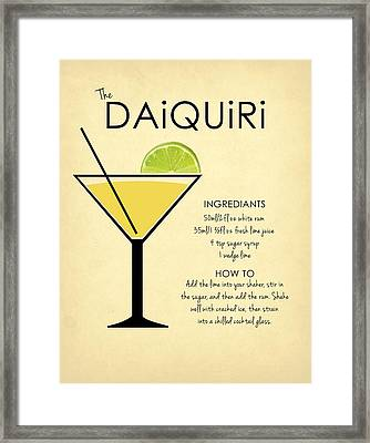 Daiquiri Framed Print by Mark Rogan