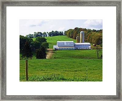 Dairy Country Framed Print