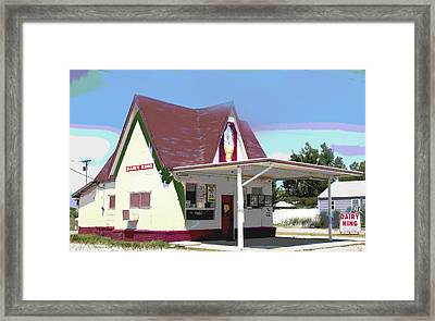 Dairy King Framed Print