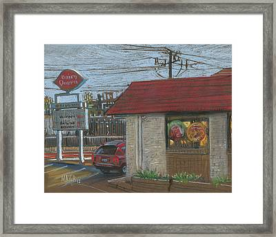 Dairy Queen Framed Print by Donald Maier
