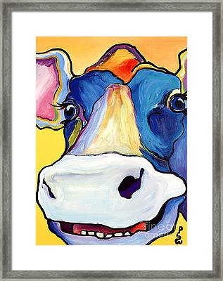 Dairy Queen I   Framed Print by Pat Saunders-White