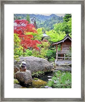 Daisho In Temple Framed Print