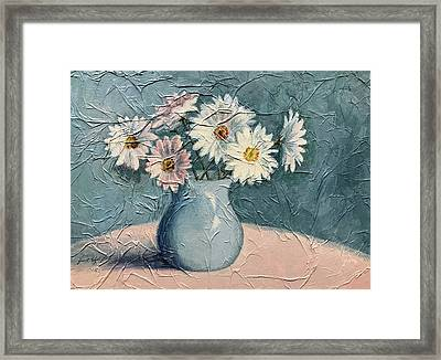 Daisies Framed Print by Janet King