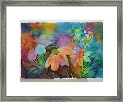 Daisies Framed Print by Maritza Bermudez