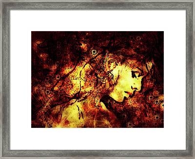 Daisy Chain In Dawn Framed Print