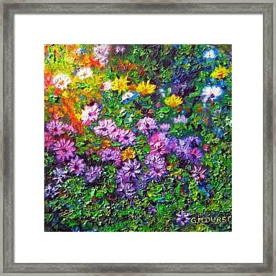 Daisy Delicious Framed Print by Michael Durst